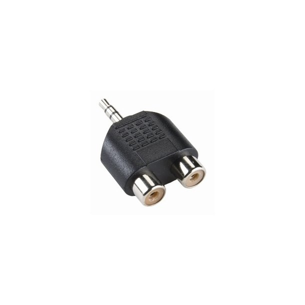 VLP Portable Audio Adapter 3,5mm St. M - 2x Rca F
