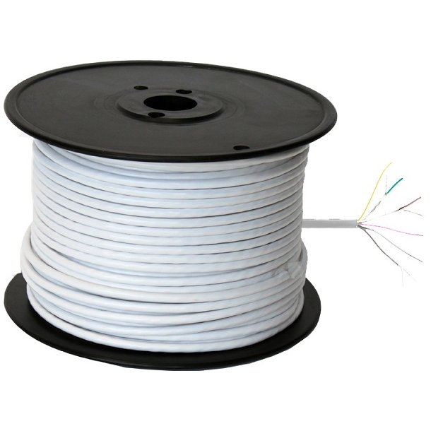 Power Link Cable 8 Cores White100m