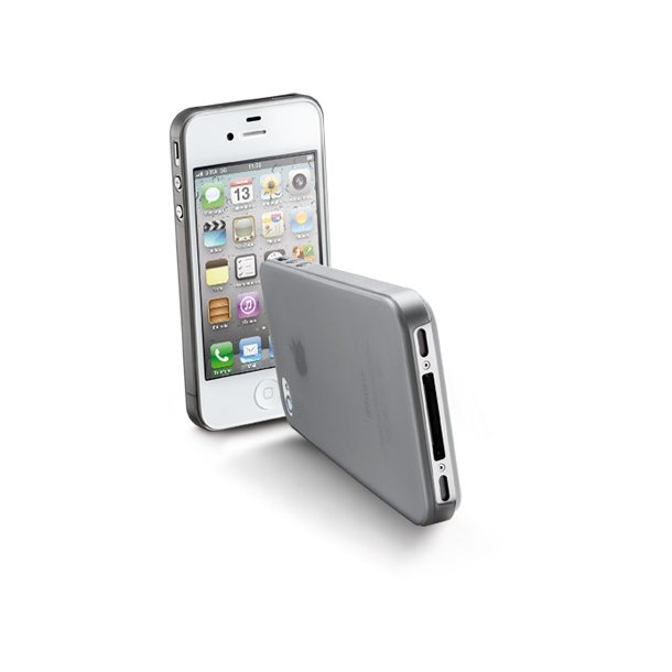 Cover iPhone 4/4S i grå