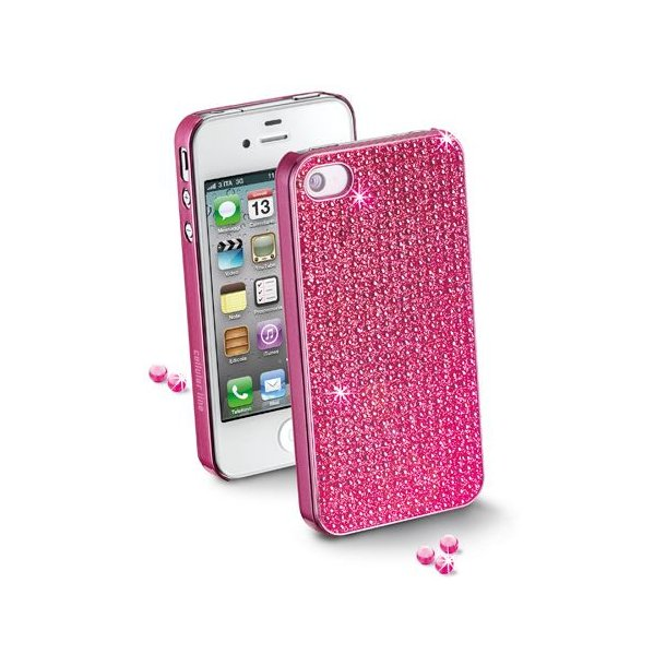Hard Case iPhone5 Crystals i pink