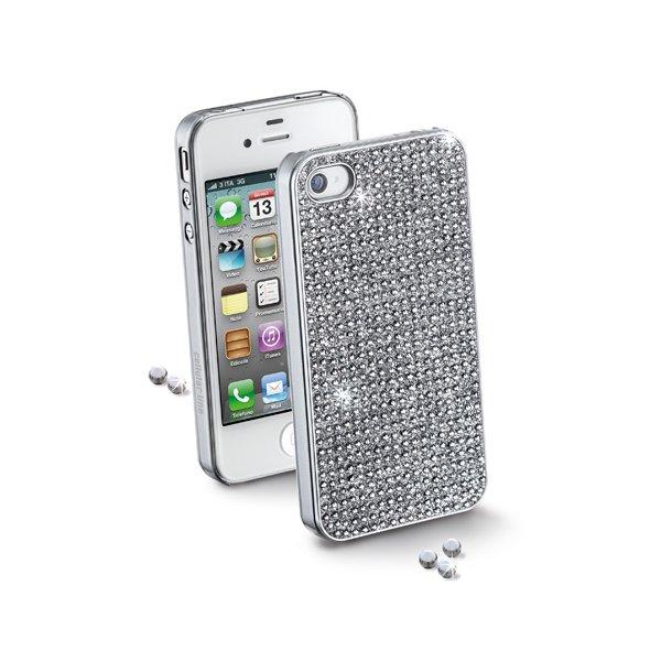 Hard Case iPhone5 Crystals i sølv