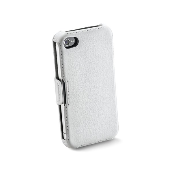 Book Case til iPhone4, i hvidiPhone 4/4S 1
