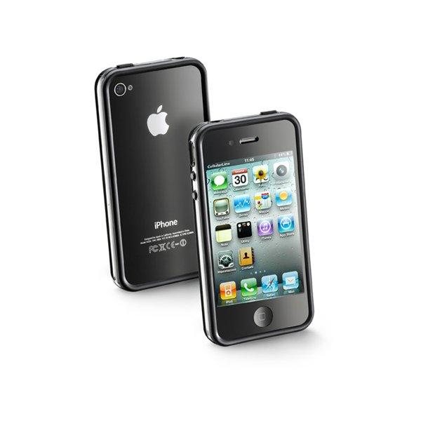 Bumper til iPhone4, i sortiPhone 4/4S
