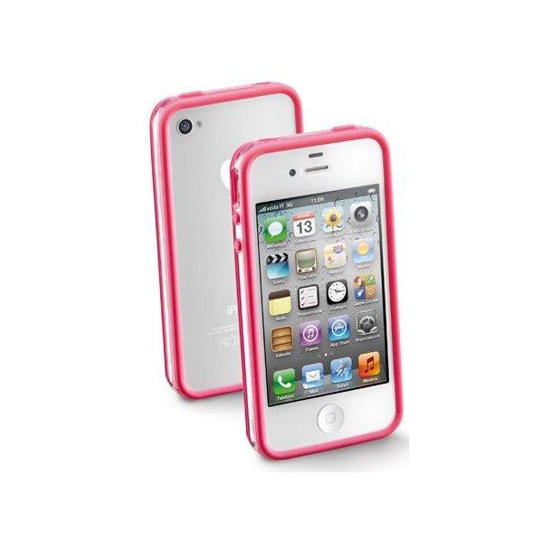 Bumper til iPhone4, i pinkiPhone 4/4S   tilventet: 31-12-99