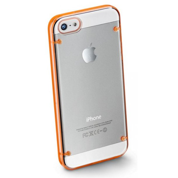 Bumper Plus til iPhone5 i orange