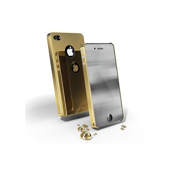 CHROME IPHONE4-GOLD