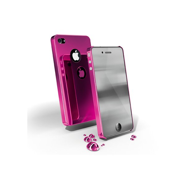 CHROME IPHONE4-PINK