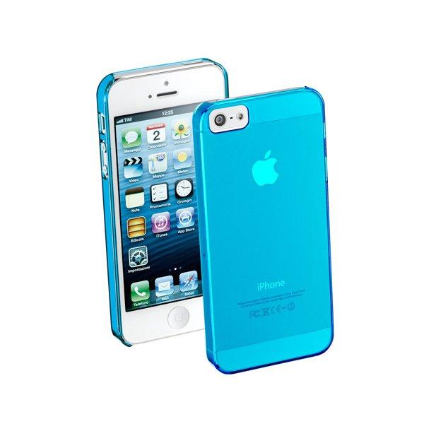 Shiny Rubber Case iPhone5 i blå