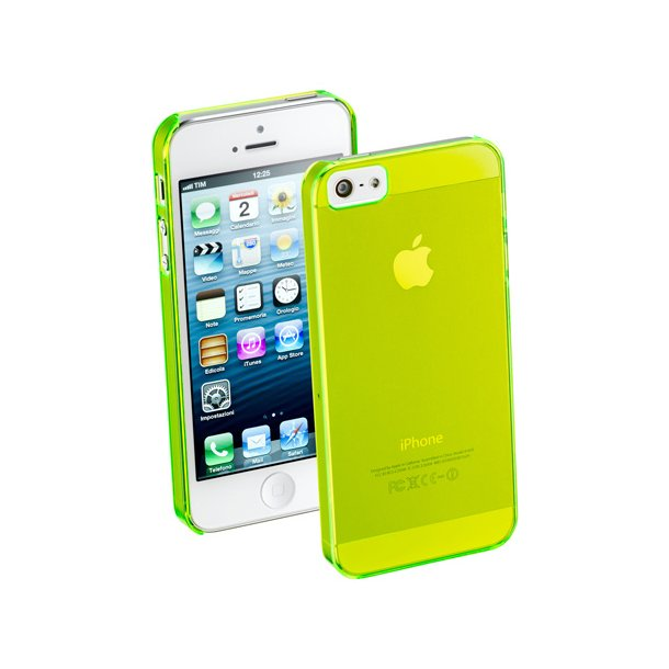Shiny Rubber Case iPhone5Lime