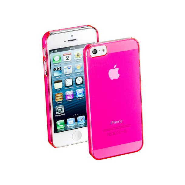 Shiny Rubber Case iPhone5 i pink