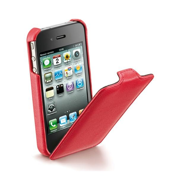 Flap iPhone 4S/4 Red