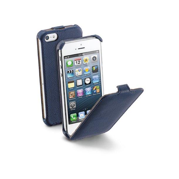 Flap iPhone 5  i blå