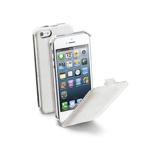 Flap iPhone 5  i hvid