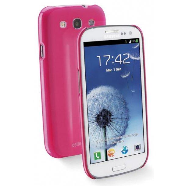 Glossy Slim til Galaxy S3i pink    1