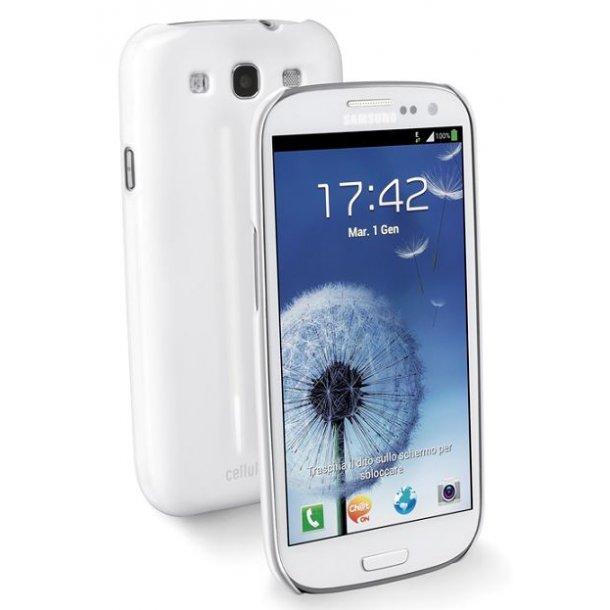 Glossy Slim til Galaxy S3i hvid    1