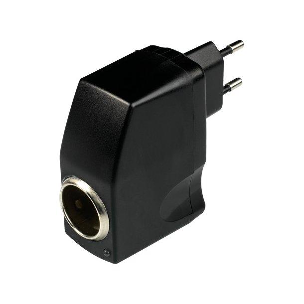 Mains adapter til 12/24 volt
