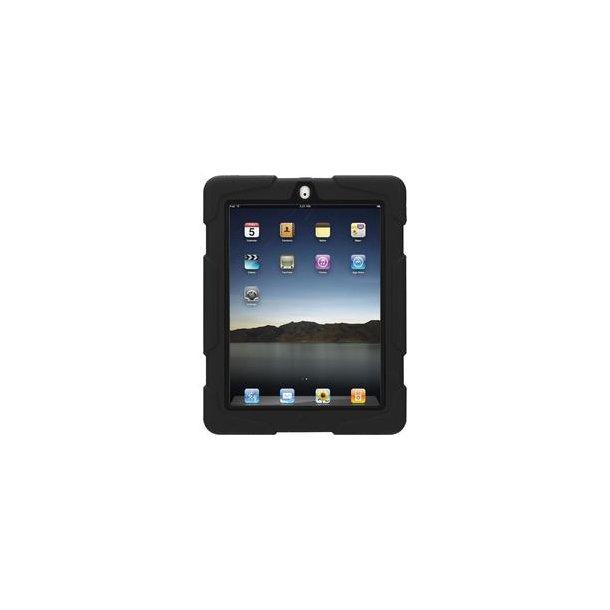 Griffin Survivor, iPad 2,3 & 4 i sort