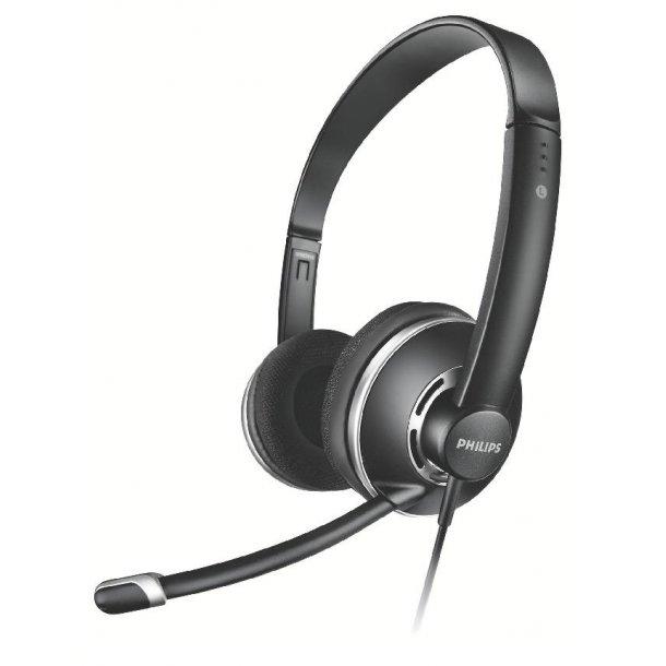 Philips SHM7410PC-stereohovedtelefoner.
