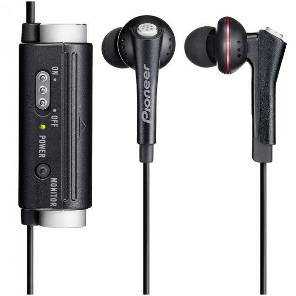 Pioneer In-Ear HP, BlackNoise Reduction