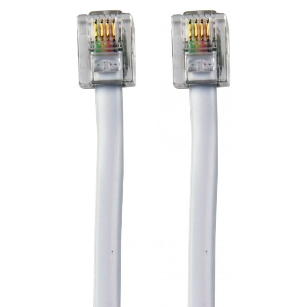 Sinox RJ11 Telephone Cable 3.0m6P4C M - M