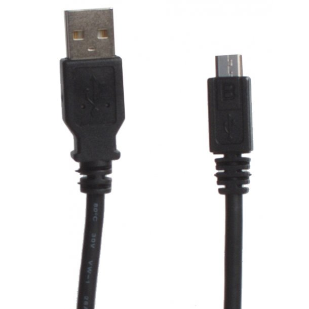 Sinox USB A - Micro USB Black1.8m1.8m