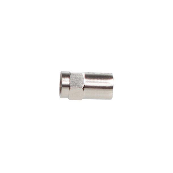 Sinox Coax Plug Metal F