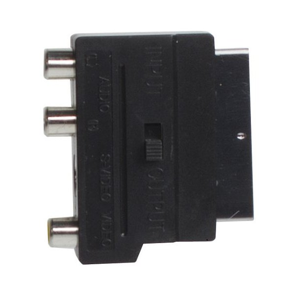 Sinox Scart Adaptor - RCA+S-VHS