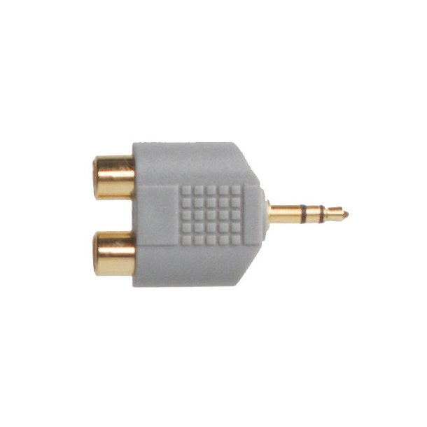 Sinox Plus Portable Audio Adapter3.5mm M - 2 RCA F St.