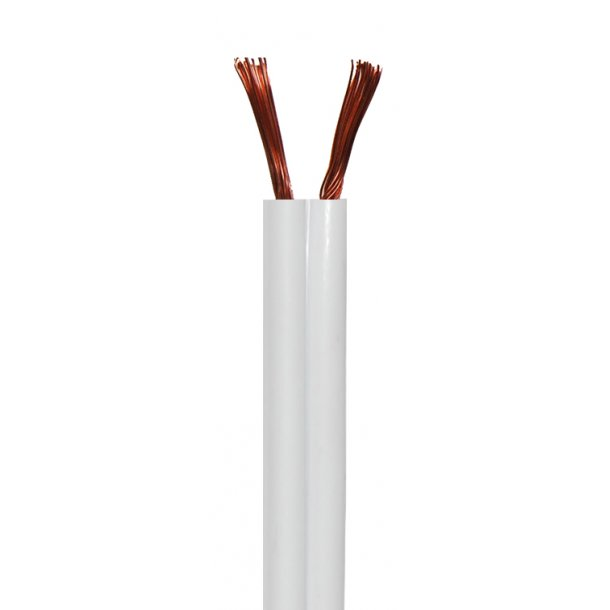 Sinox Speaker Cable 0.75mm White2x0.75mm. 200m.