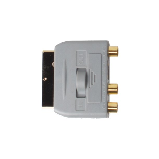 Sinox Plus SCART AdapterSCART M - S-Video + 3RCA F